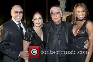 Emilio Estefan, Deborah Cox, Gloria Estefan and Roberto Cavalli