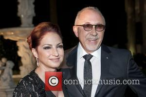 Gloria Estefan, Emilio Estefan and Roberto Cavalli