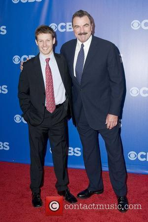 Will Estes and Tom Selleck