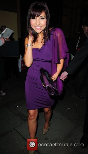 Roxanne Pallett outside the Palace Theatre, Manchester for the production of 'The Vagina Monologues' Manchester, England - 30.10.10