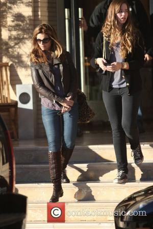 Maria Shriver and her daughter Katherine Schwarzenegger do some Black Friday shopping at Barneys of New York in Beverly Hills...