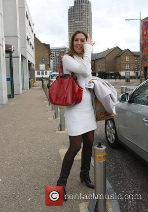 Emma Crosby outside the ITV studios London, England - 04.03.10