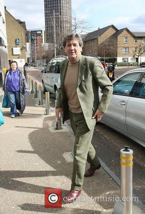 Melvyn Bragg outside the ITV studios London, England - 04.03.10