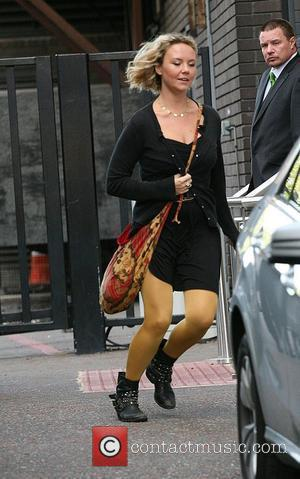 Charlie Brooks outside the ITV studios London, England - 11.08.10