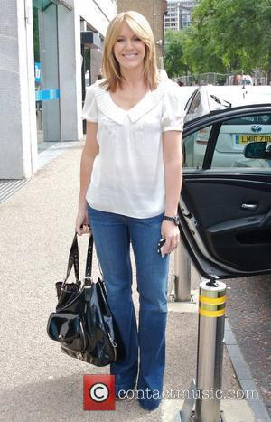 Helen Fospero outside the ITV studios London, England - 20.07.10
