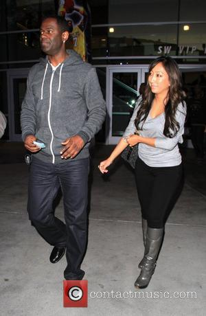 Brian McKnight arriving at the Staples Center to watch an LA Lakers game. Los Angeles, California - 25.12.09