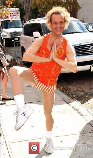 Richard Simmons outside the studio ahead of an appearance on 'The Wendy Williams Show' New York City, USA - 17.11.10