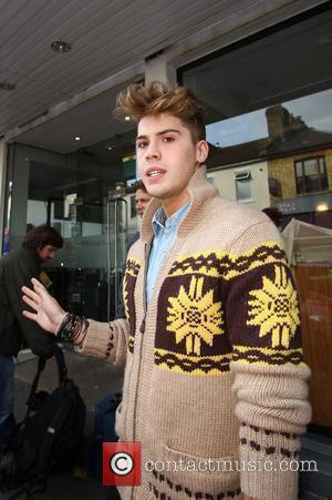 Aiden Grimshaw Celebrities arriving at the studio to film the ITV2 show 'Celebrity Juice' London, England - 03.11.10