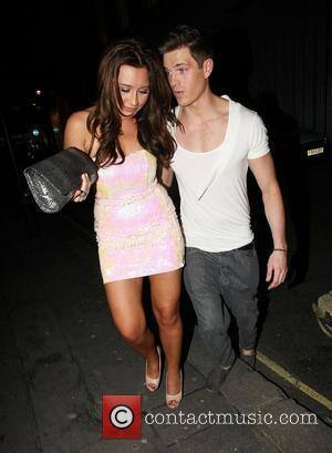 Lauren Goodger leaving Chinawhite nightclub with a friend London, England - 20.01.10