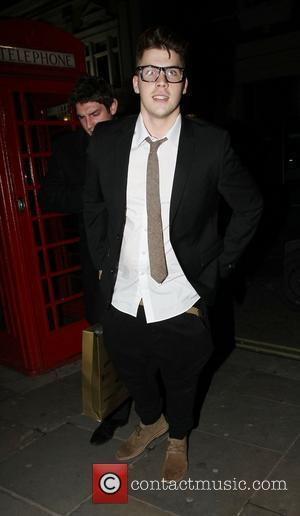 Aiden Grimshaw  Leaving Asia de Cuba restaurant in St Martins Lane London, England - 18.01.11