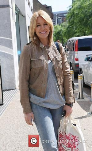 Helen Fospero outside the ITV studios London, England - 21.06.10