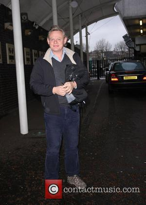 Martin Clunes outside the ITV studios London, England - 29.03.10