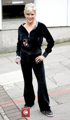 Samantha Fox Celebrities outside the ITV studios London, England - 28.09.10