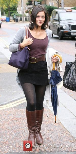 Lucy Verasamy outside the ITV studios London, England - 29.09.10