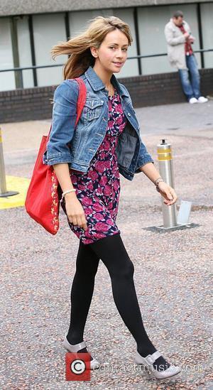 Samia Smith outside the ITV studios London, England - 29.09.10