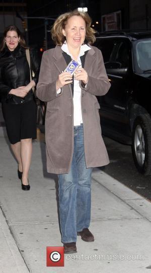 Bettina Luescher and David Letterman