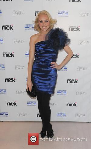 Camilla Dallerup A Night With Nick, held at Swarovski CRYSTALLIZED. London, England - 30.11.10