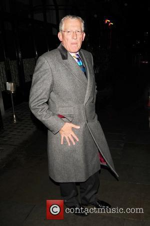 Nick Hewer from The Apprentice Celebrities outside Scott's restaurant London, England - 26.10.10