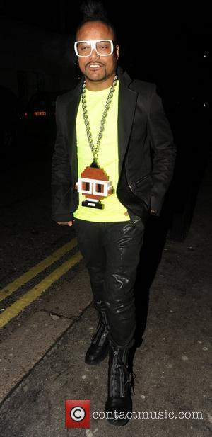 Apl.De.Ap of The Black Eyed Peas outside Mayfair's Whisky Mist club London, England - 05.12.10