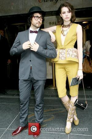 Sean Lennon and Charlotte Kemp Muhl leaving The Carlyle Hotel to attend The Costume Institute Gala Benefit New York City,...