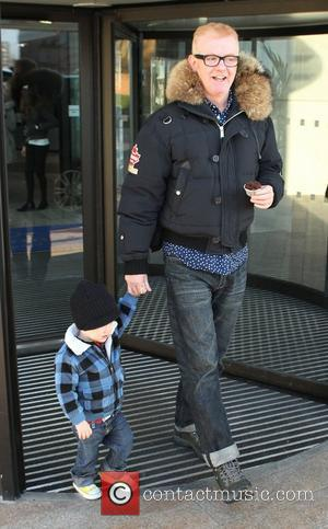 Chris Evans 'Famous and Fearless' host leaving the Hilton hotel Liverpool, England - 08.01.11
