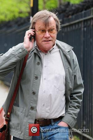 David Neilson Coronation Street stars arriving at the Granada Television studios. Manchester, England - 27.04.10
