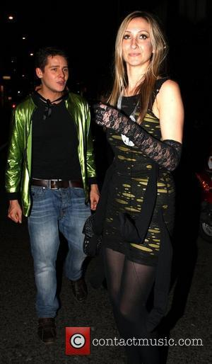 Chris Parker leaves a private Halloween party in Chelsea London, England - 30.10.10