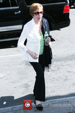 Carol Burnett arriving outside her Manhattan hotel. New York City, USA - 07.04.10
