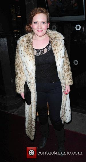 Jenny McAlpine arrives at Circle Bar Coronation Street Christmas party. Manchester, England - 19.12.10
