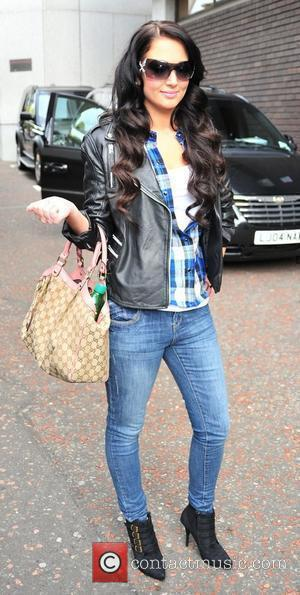 Tulisa Contostavlos of N-Dubz  outside the ITV studios London, England - 18.10.10