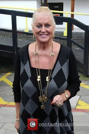 Kim Woodburn Celebrities outside the ITV television studios London, England - 14.12.09