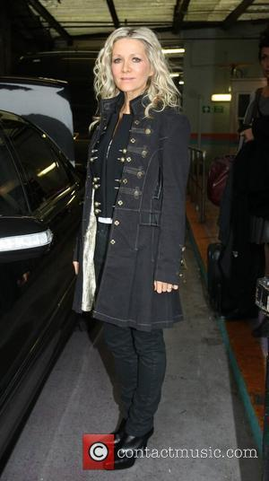 Danielle Spencer Celebrities outside the ITV television studios. London, England - 18.01.10