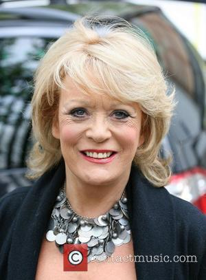 Sherrie Hewson Celebrities outside the ITV television studios. London, England - 19.04.10
