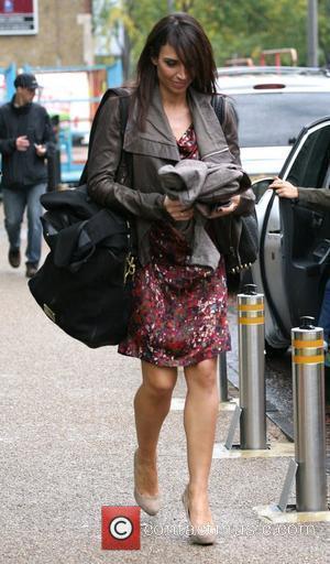 Christine Bleakley and Leaves