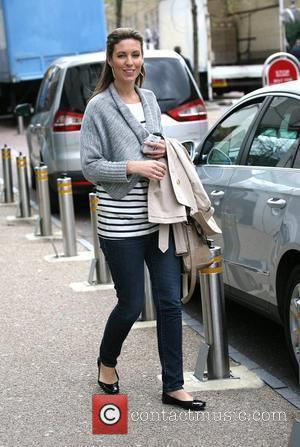 Emma Crosby leaves the ITV Studios London, England - 04.05.10