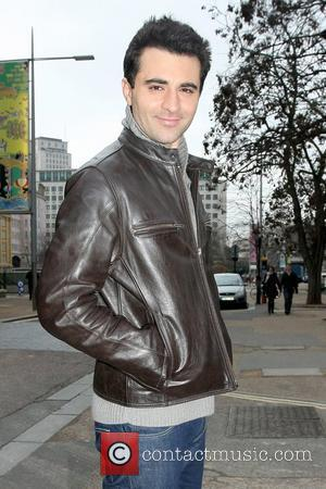 Darius Danesh leaving the ITV studios London, England - 08.02.10