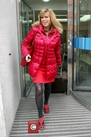 Kate Garraway leaving the ITV studios London, England - 08.02.10