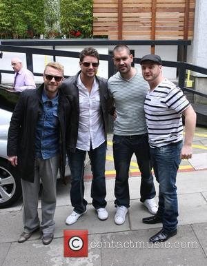 Ronan Keating, Duffy, Keith Duffy, Mikey Graham and Shane Lynch