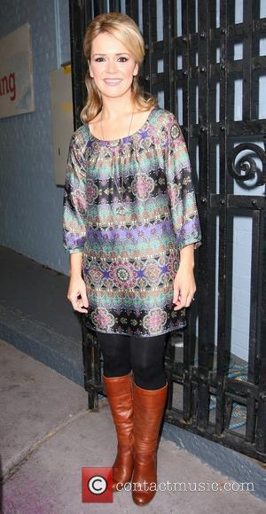 Rachel Leskovac outside the ITV studios London, England - 23.09.10