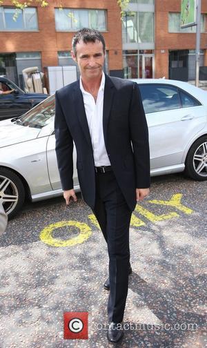 Marti Pellow Celebrities outside the ITV television studios. London, England - 18.05.10