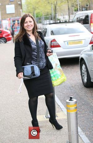 Clare Nasir outside the ITV studios London, England - 11.05.10