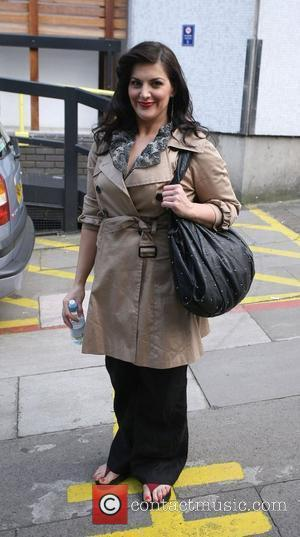 Jodie Prenger  Celebrities outside the ITV television studios. London, England - 18.05.10