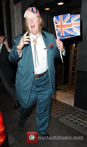 John McCririck leaving the Ivy restaurant London, England - 11.09.10