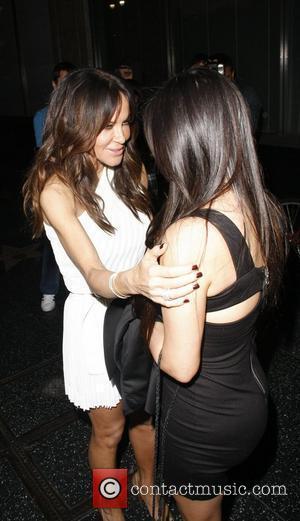 Robin Anton and Kim Kardashian