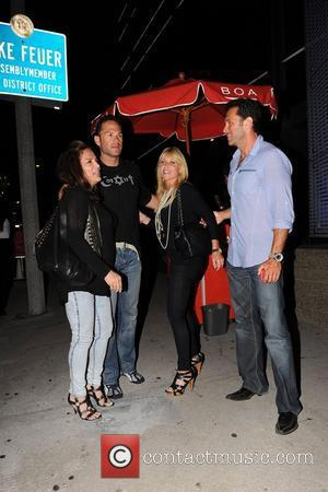 Pamela Bach outside Boa Steakhouse. Los Angeles, California - 27.08.10