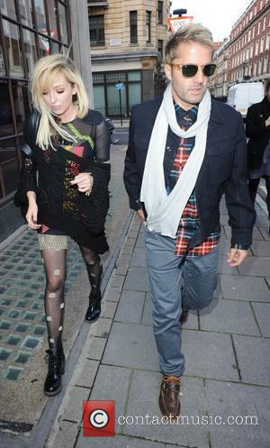 The Ting Tings - Katie White, Jules De Martino Celebrities outside the BBC Radio One studios London, England - 06.10.10