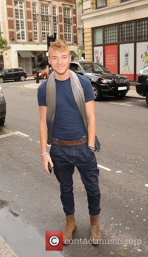 Lloyd Daniels Celebrities outside the Radio 1 studios. London, England - 23.08.10