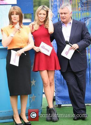 Ruth Langsford, Abbey Clancy and Eamonn Holmes