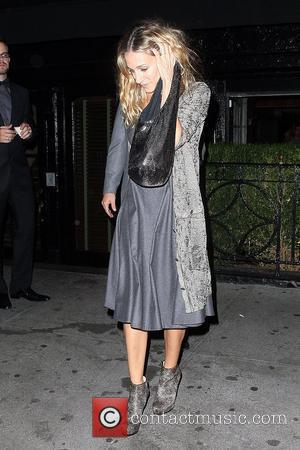 Sarah Jessica Parker, Anderson Cooper, Leaves and The Lion