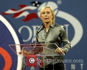 Martina Navratilova 2010 US Open Opening Night Ceremony at the USTA Billie Jean King National Tennis Center. New York City,...